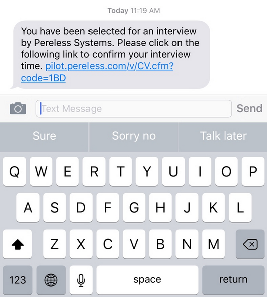 Why texting is crucial for recruiting ats ondemand pereless text stopboris